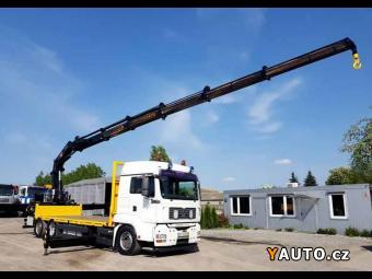 Prodám MAN TGA 26.440 6x2 valník + HR EUR