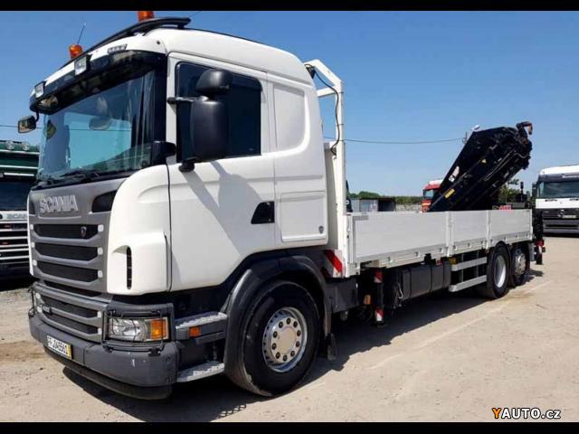 Prodám Scania G400 6x2 valník + HR + vlek EU