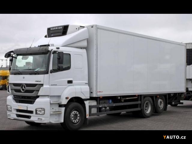 Prodám Mercedes-Benz Axor 2540 6x2 chlaďák EURO 5