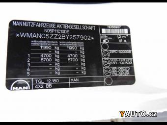 Prodám MAN TGL 12.180 shrnovačka EURO 5