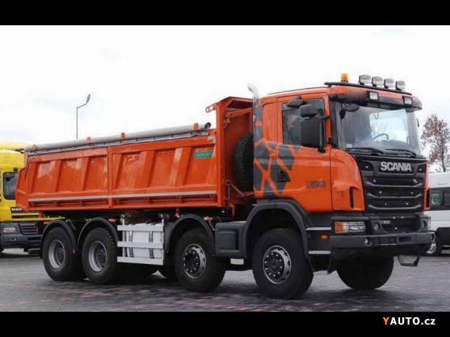 Prodám Scania G 400 8x6 Bordmatik EURO 5