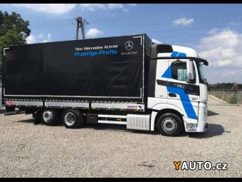 Prodám Mercedes-Benz Actros 2542 6x2 valník plachta
