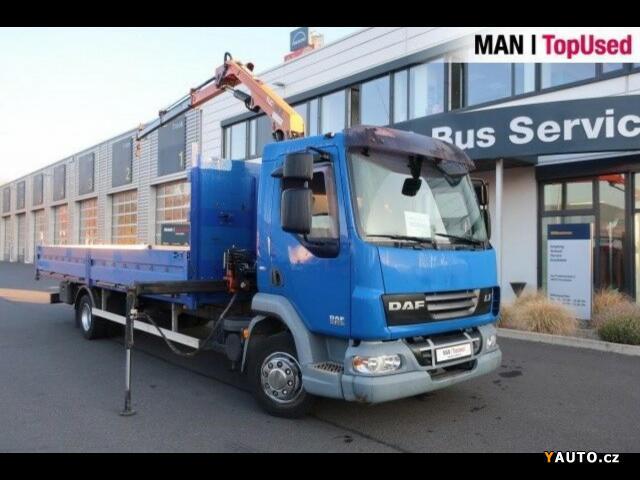 Prodám DAF LF 45.220 valník + HR EURP 5