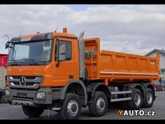 Prodám Mercedes-Benz Actros 4141 8x8 Bordmatik EURO