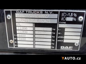 Prodám DAF LF 220 valník s plachtou EURO