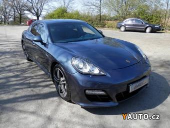 Prodám Porsche Panamera 4S PDK, Nové v ČR, Aktiv temp.