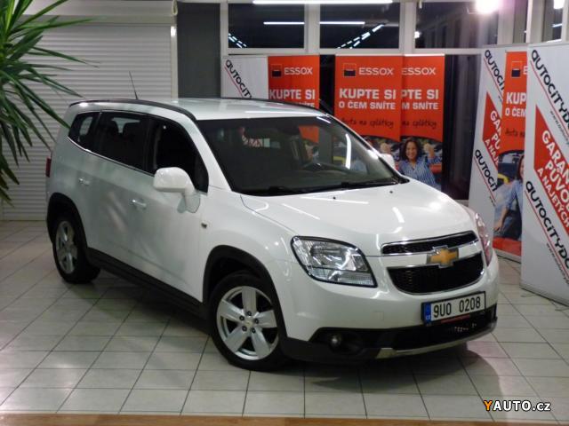 Prodám Chevrolet Orlando 2,0 Tdi 163PS 7MÍST