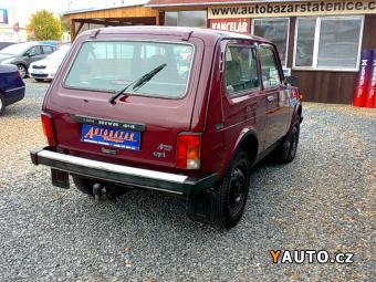 Prodám Lada Niva 1.7I 4X4