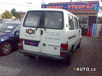 Prodám Volkswagen Transporter 1.9 TD 50KW 9MÍST