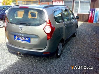Prodám Dacia Lodgy 1.6i ARTICA