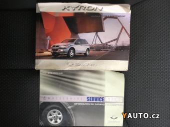 Prodám SsangYong Kyron 2.0 XDi 104kW