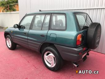 Prodám Toyota RAV4 2.0i 16V bez koroze + CNG