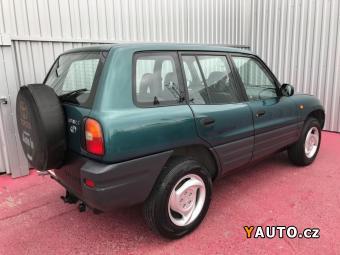Prodám Toyota RAV4 2.0i 16V bez koroze