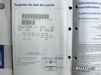 Prodám Volkswagen Touran 1.6 MPi Bi-fuel