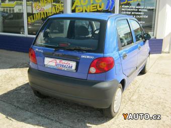 Prodám Daewoo Matiz 0,8i Nová STK