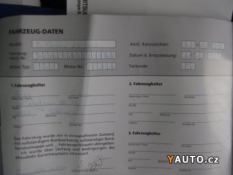 Prodám Mitsubishi Outlander 2.0i 4WD, serviska, klima
