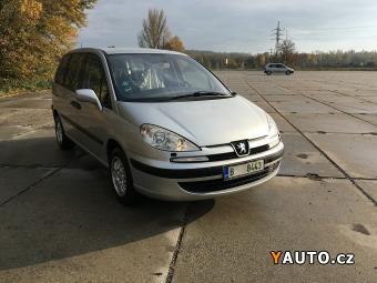 Prodám Peugeot 807 2.0 100 kW 149000KM