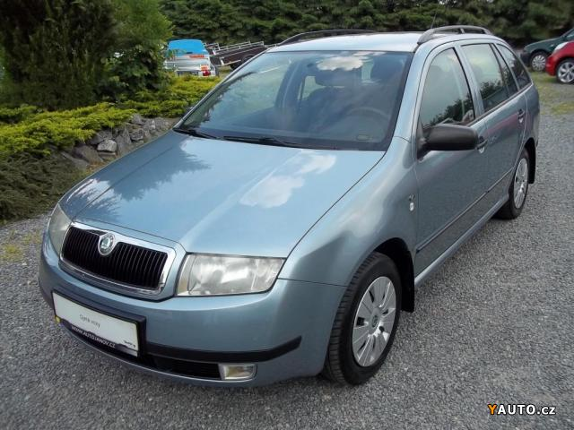 Prodám Škoda Fabia Combi 1.9 SDI, NOVÉ ROZVODY
