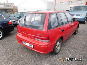 Prodám Subaru Justy 1.3i, 4x4, servo