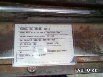 Prodám Tatra 815 26.208 6x6 sklápěč S3