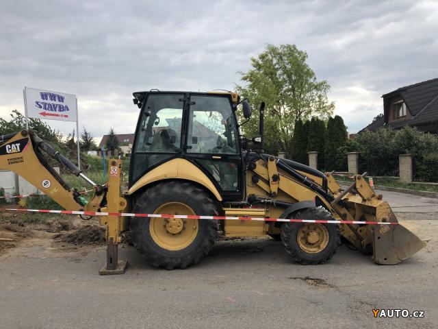Prodám Caterpillar CAT 432E - traktorbagr