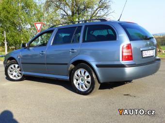 Prodám Škoda Octavia 1.6i LPG ASR ALU