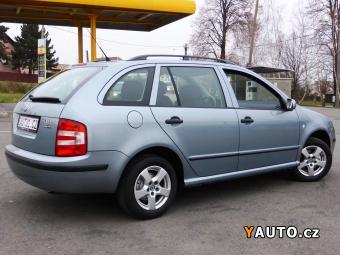 Prodám Škoda Fabia 1.4i16V 55kW KLIMA 1. MAJITEL