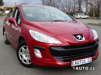 Prodám Peugeot 308 1.4i 70kW r2008 KLIMA 1MAJITEL