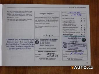 Prodám Škoda Octavia 1.6i 75kW KLIMA DOLOŽENY KM