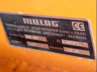 Prodám  MULAG GRC 640 v. č. 97AO10714