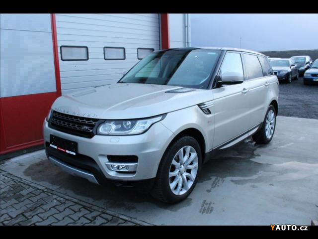 Prodám Land Rover Range Rover Sport 3,0 TDV6 HSE, 7-míst, záruk