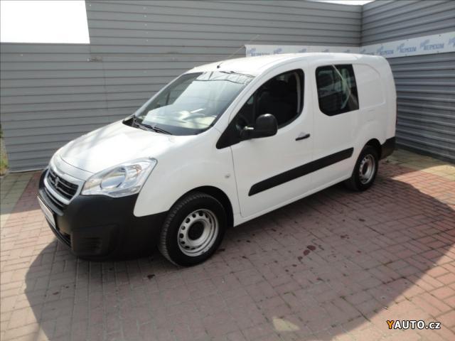 Prodám Peugeot Partner 1,6 bHDI L2 5-míst