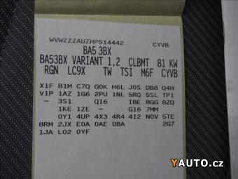 Prodám Volkswagen Golf 1,2 TSi R-line Comfortline Va