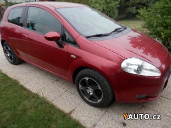 Prodám Fiat Grande Punto 1,2i 39000km Serv. kn