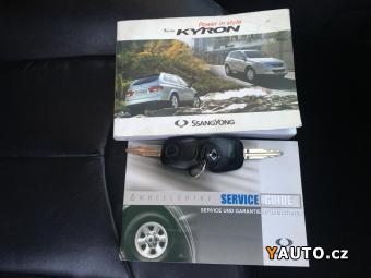 Prodám SsangYong Kyron M200 XDi 4x4 70tisKM