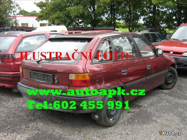 Prodám Opel Astra 1.6 Určeno na ND, 602455991