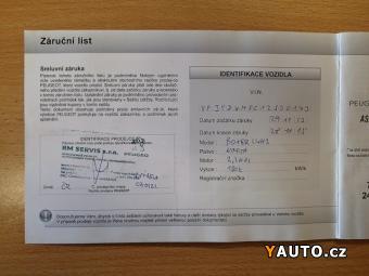 Prodám Peugeot Boxer ČR 2.2HDI AC – POZOR