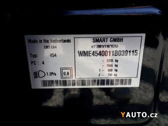 Prodám Smart Forfour 1.5DCI – KM CEBIA