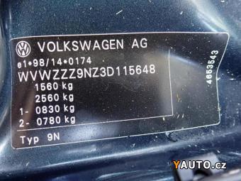 Prodám Volkswagen Polo 1.4i 16V – 1majitelka 1944