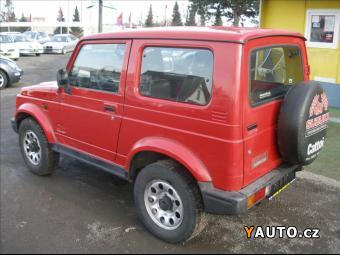 Prodám Suzuki Samurai 1,3 i, 4x4, BEZ KOROZE, EKO ZAP