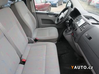 Prodám Volkswagen Transporter 1.9 TDi 77kW klima 9 míst