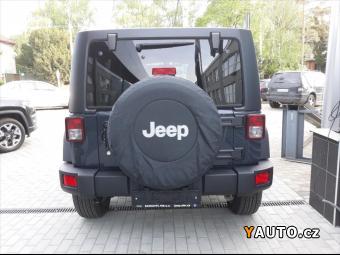 Prodám Jeep Wrangler 2.8 Unlimited 2,8 CDR Rubico