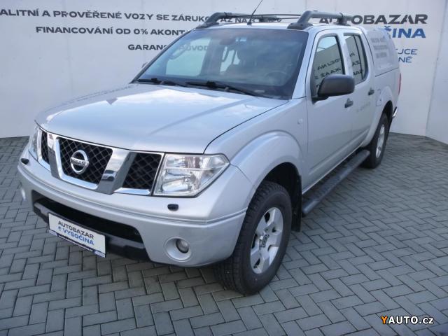 Prodám Nissan Navara 2.5DCi Double-Cab HARDTOP