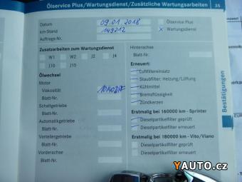 Prodám Mercedes-Benz Viano 2.2CDi 120Kw Polokůže Servi