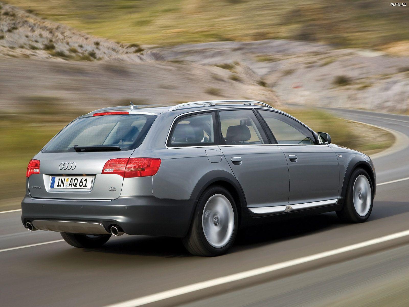 Audi A6 Allroad Quattro 2006 Auta Na Plochu Tapety Na