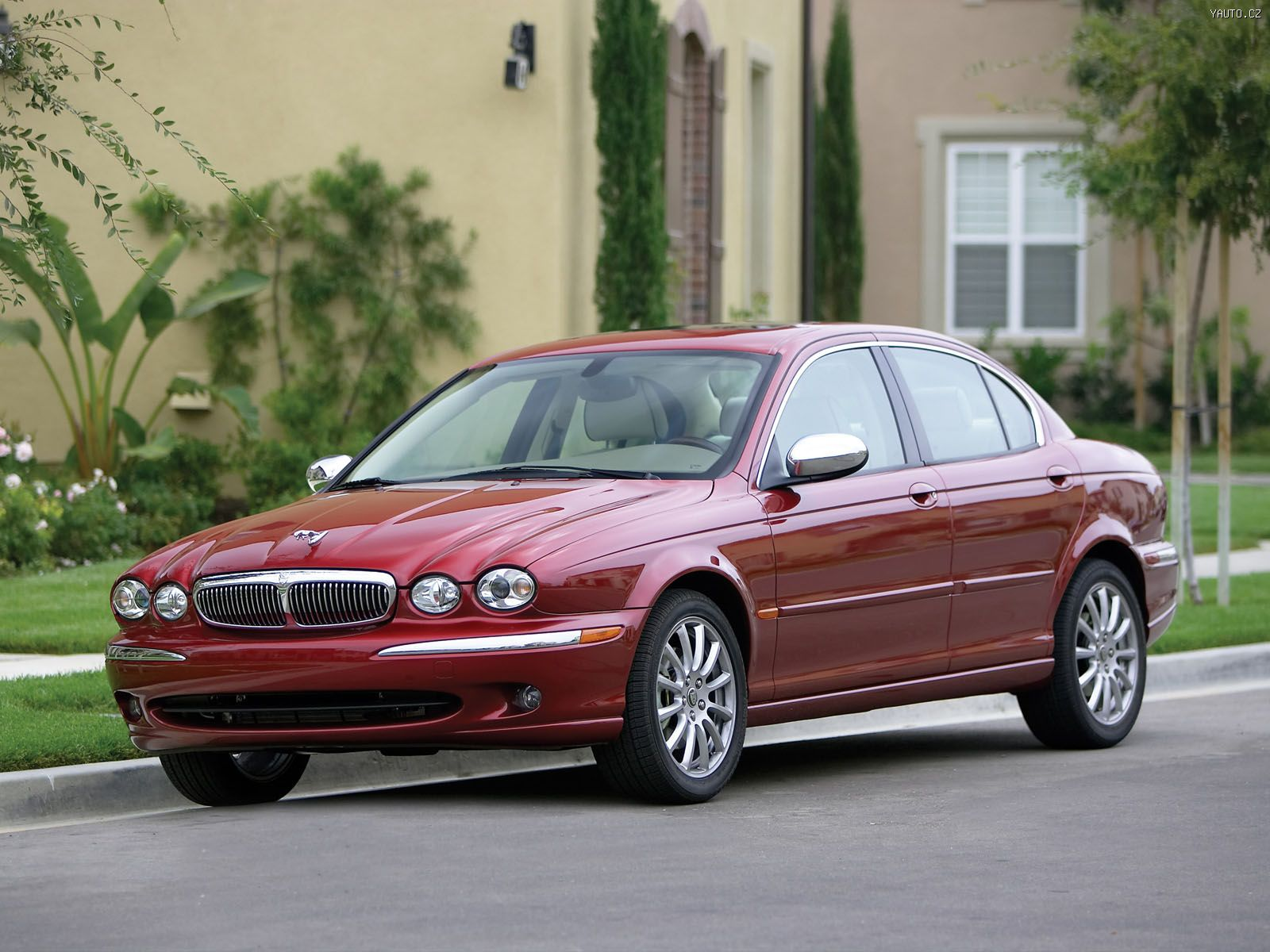 Jaguar X Type 2005 Auta Na Plochu Tapety Na Plochu