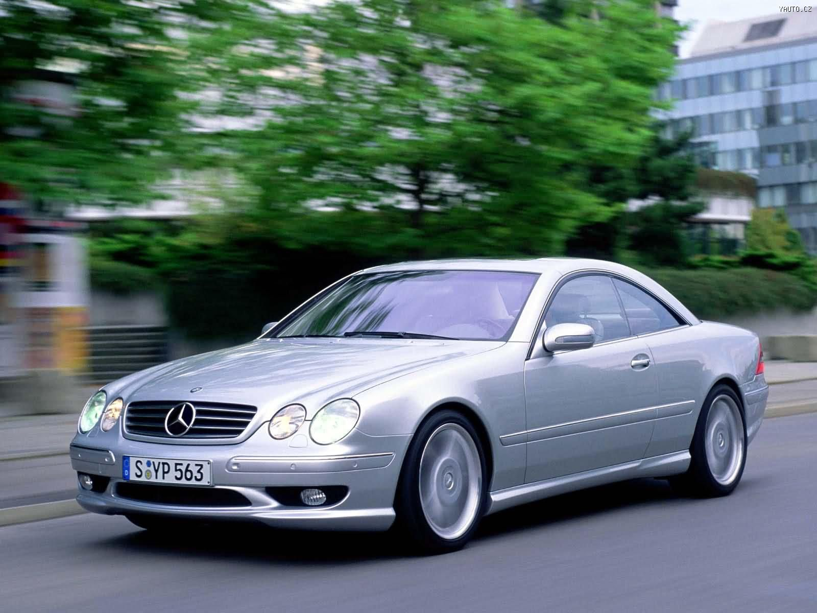 Mercedes benz cl55 amg 2000 auta na plochu tapety na for Mercedes benz 600 amg