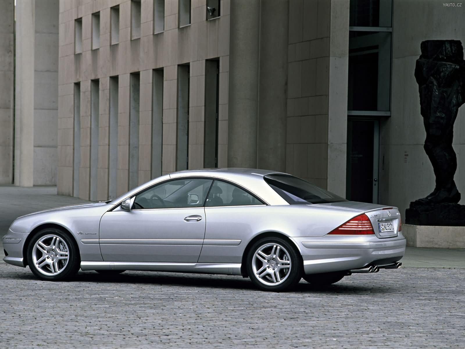 Mercedes benz cl55 amg 2000 auta na plochu tapety na for Mercedes benz amg 55