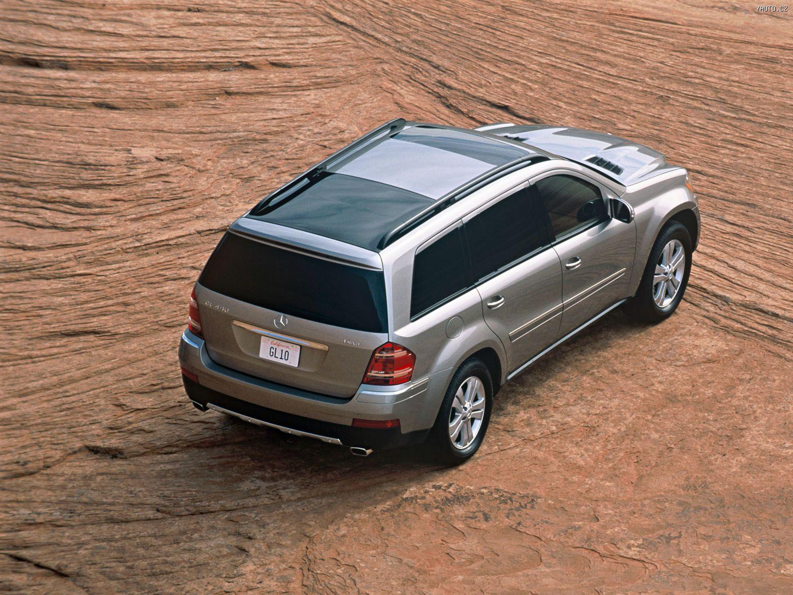 Mercedes Benz GL 2005 Auta Na Plochu Tapety Na Plochu