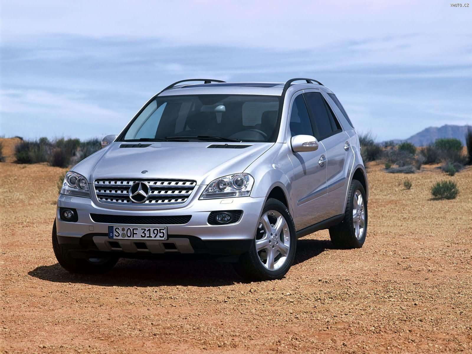 Mercedes Benz ML350 (2006) Auta na plochu, tapety na ...